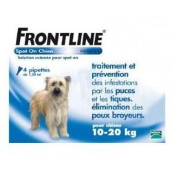FRONTLINE - Chiens de 10 à 20 Kg - Pipettes