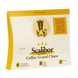 SCALIBOR - Collier Anti-Tiques Grand Chien 65 cm