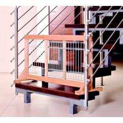 Barrière de porte / escalier en bois - Hauteur 50 cm